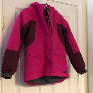 Girls Lands End Winter Jacket